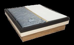 Gewoon bed en waterbed combi